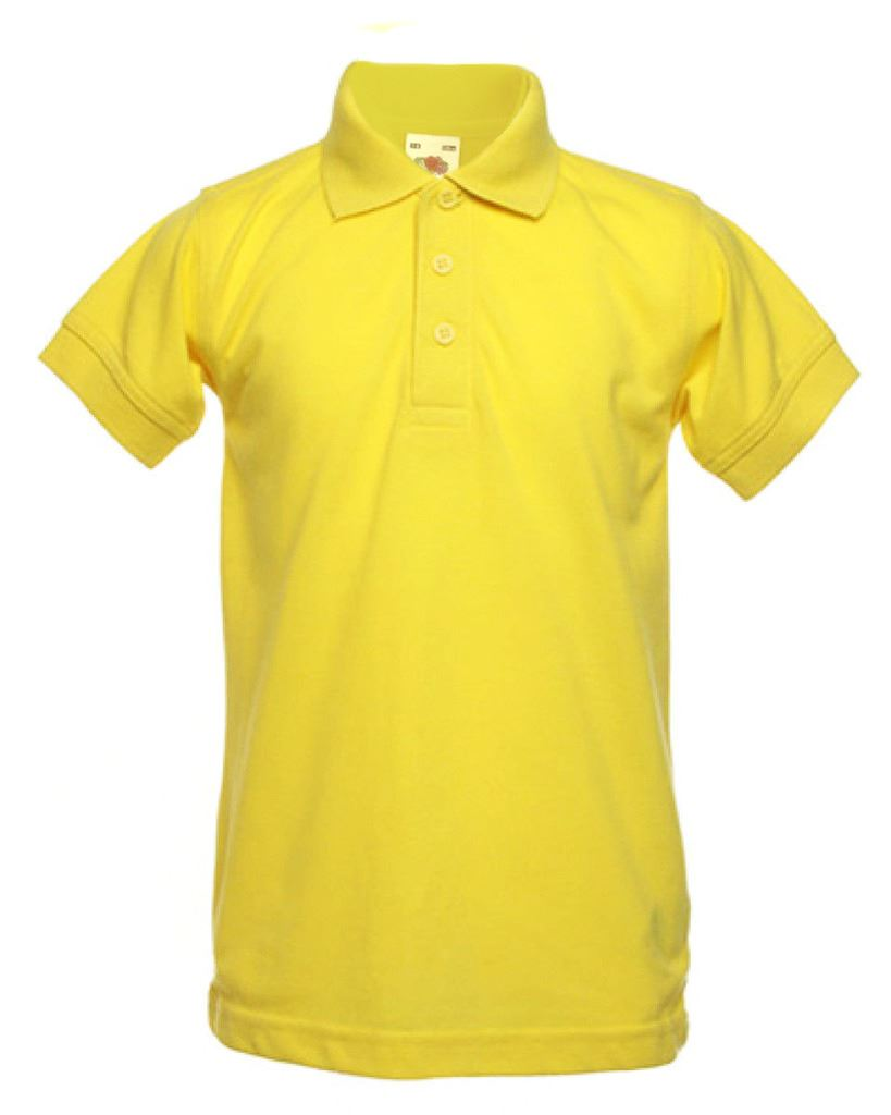K86 boys girls kids short sleeve polo t shirt top back to for Short sleeve school shirts