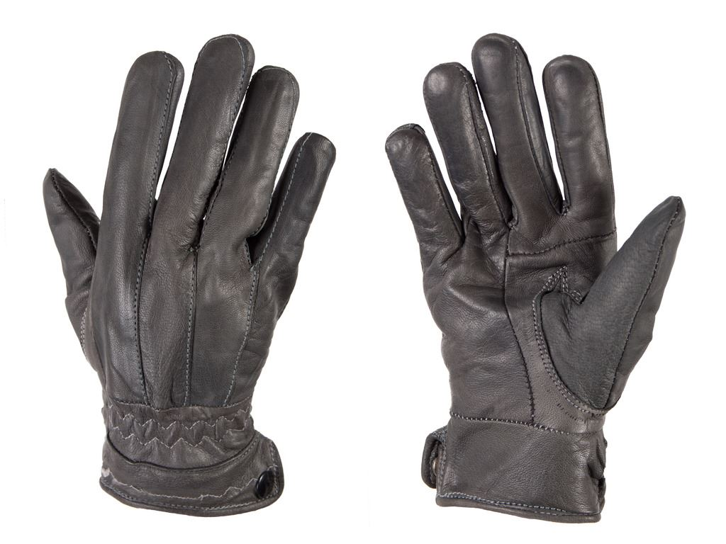 Ladies coloured leather gloves - G132 Ladies Seamed Soft Coloured Leather Fleece Lined