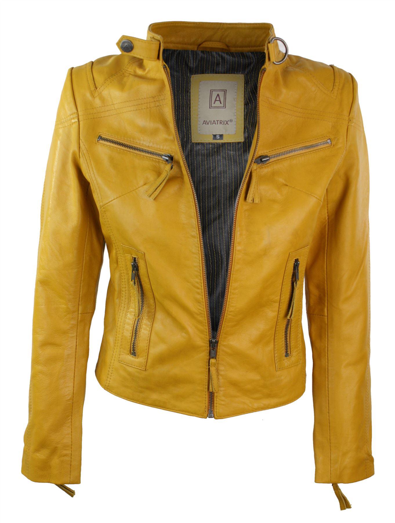 Ladies leather jackets ebay