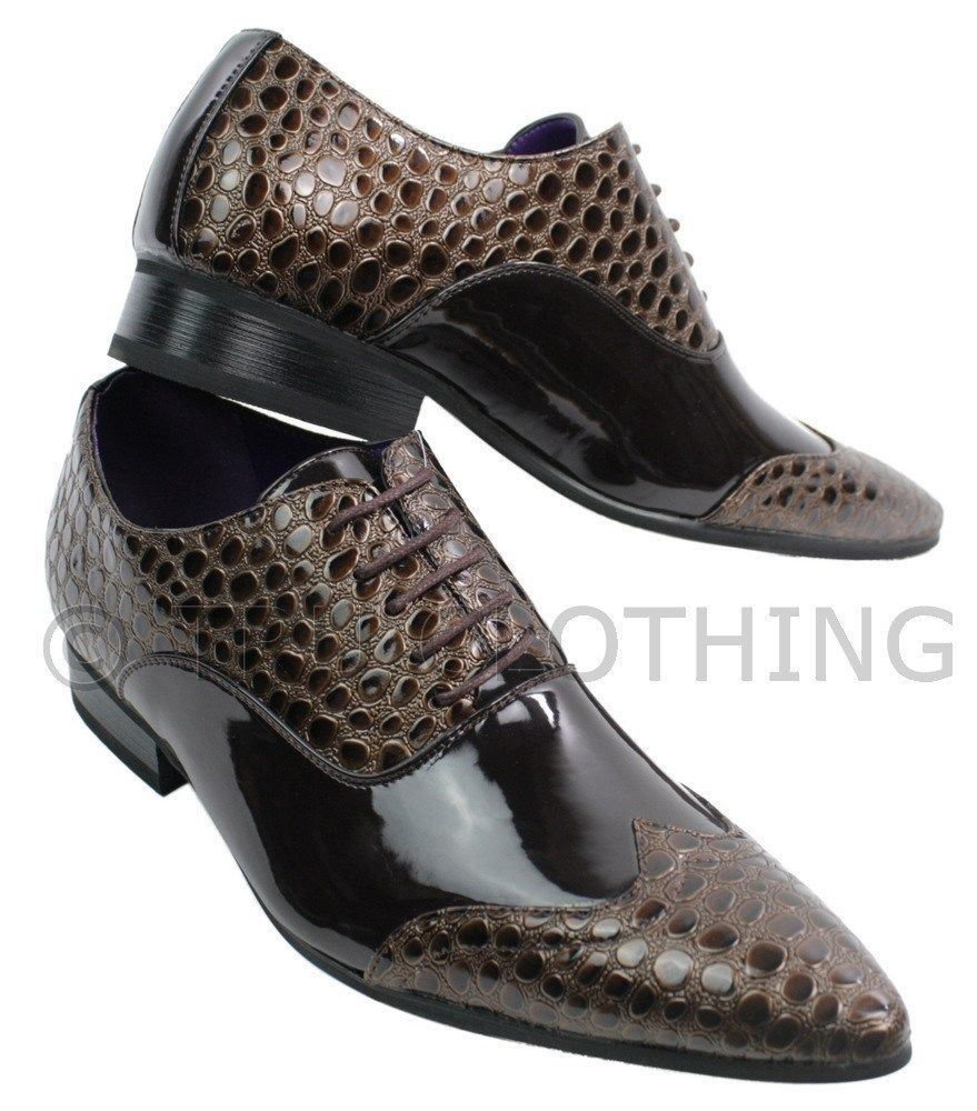 Chaussures Homme Crocodile Cuir Chaussures-homme-crocodile
