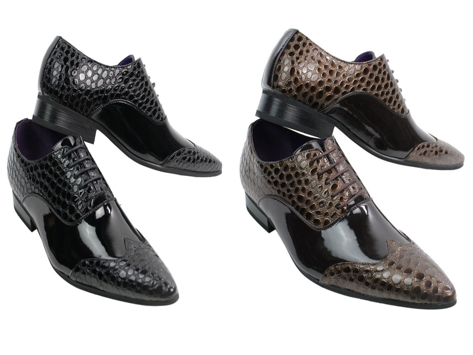 Chaussures Homme Crocodile Cuir Chaussures Homme Crocodile