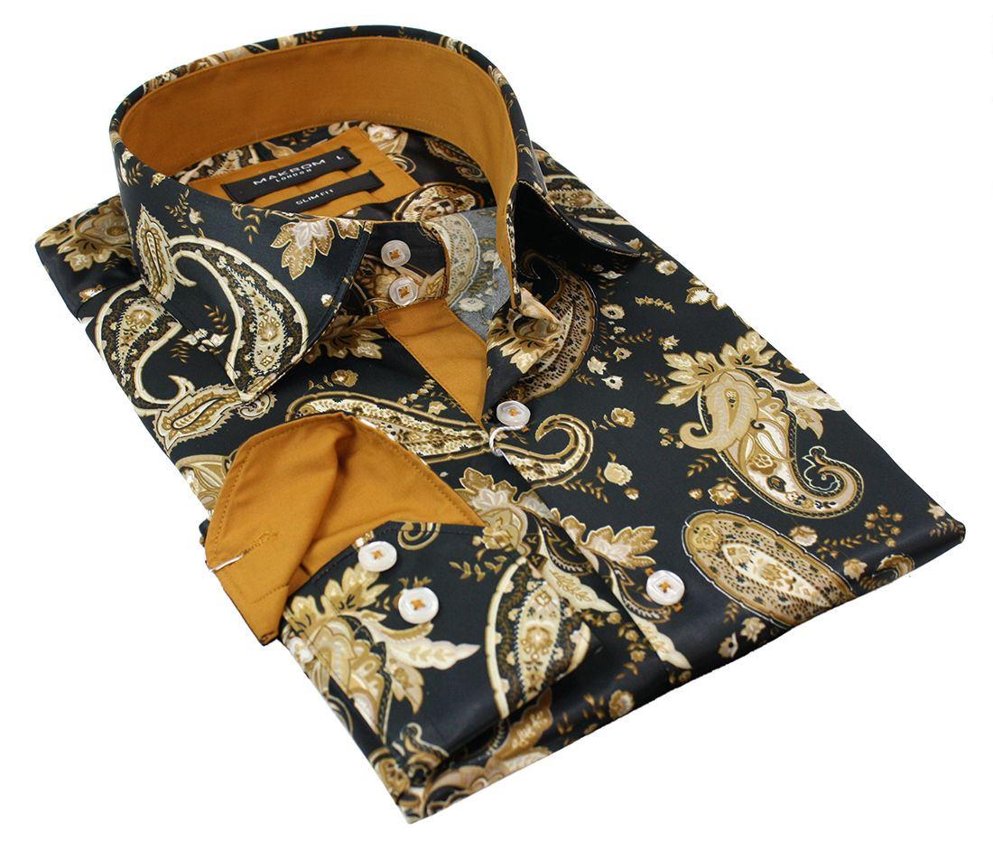 chemise soie homme en vente eBay