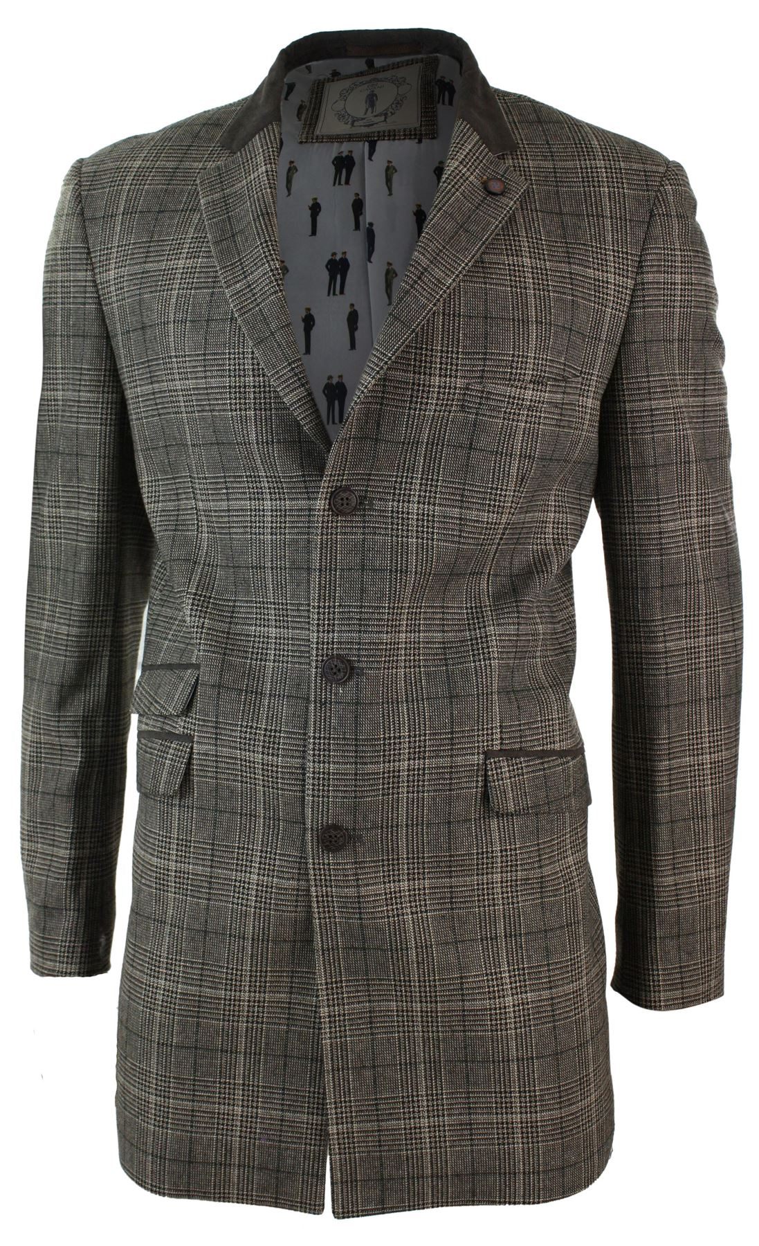 Check Wool Blend Overcoat is rated out of 5 by Rated 5 out of 5 by Suesids from Beautiful coat My husband always wanted a coat like this and was over the moon with this coat. It was fabulous quality and an incredible price in the sale.