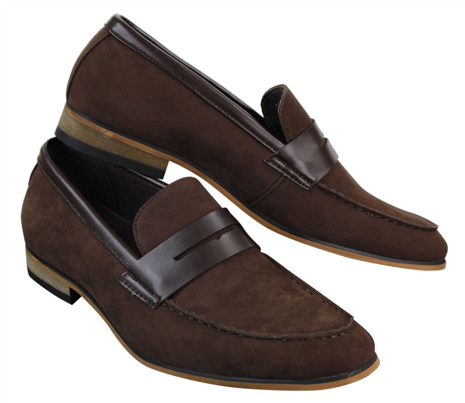Mens Casual Ankle Shoes Loafers