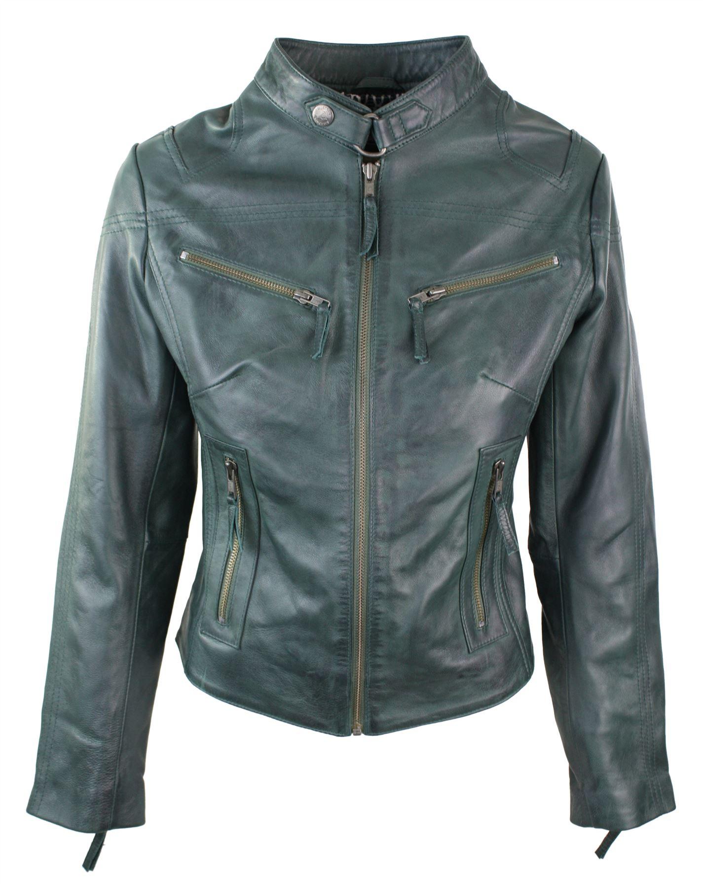 Ladies Vintage Leather Jacket 19