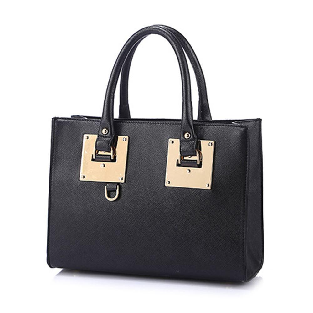 New Ladies Designer Womens Leather Style Tote Shoulder Bag Handbag