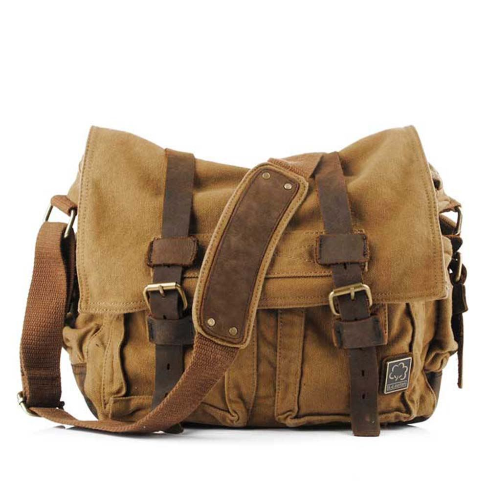 Canvas Messenger Bag,Leather Canvas Messenger Bag,Canvas Macbook Bag,Mens Canvas Leather Messenger Bag,Canvas Laptop Bag,Canvas Briefcase atelierCOLORS. out of 5 stars () $ $ $ (30% off).