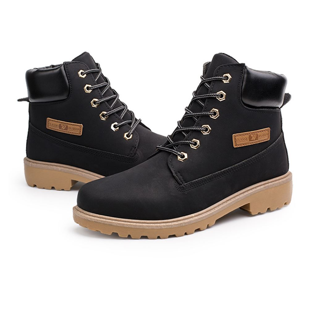 New Mens Casual Boots Size 8 9 10 Shoes Trainers Lace Up Walking  Work Footwear