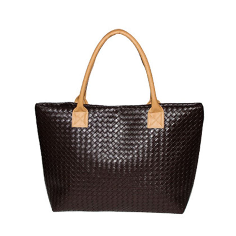Womens designer large summer woven pattern beach bag tote for Designer beach bags and totes