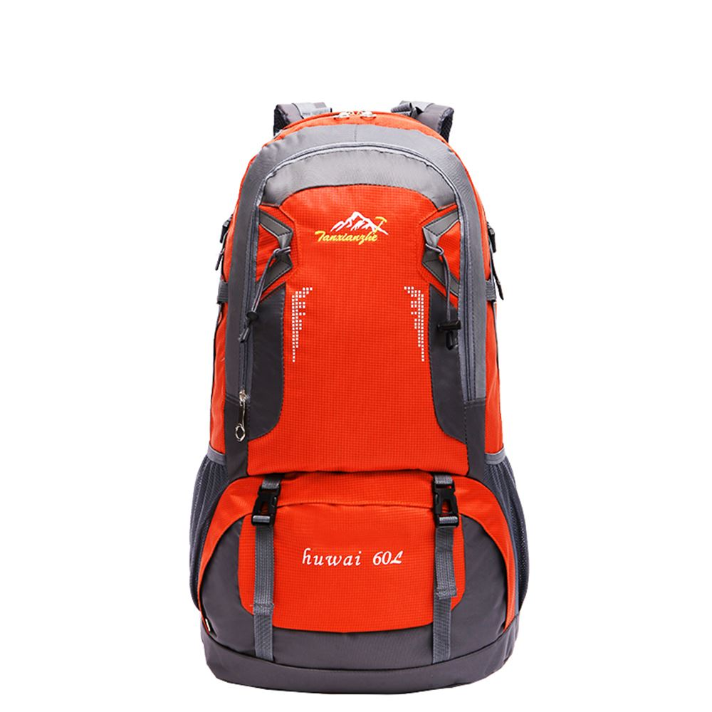 Large 60l travel rucksack outdoor waterproof hiking for Outdoor rucksack