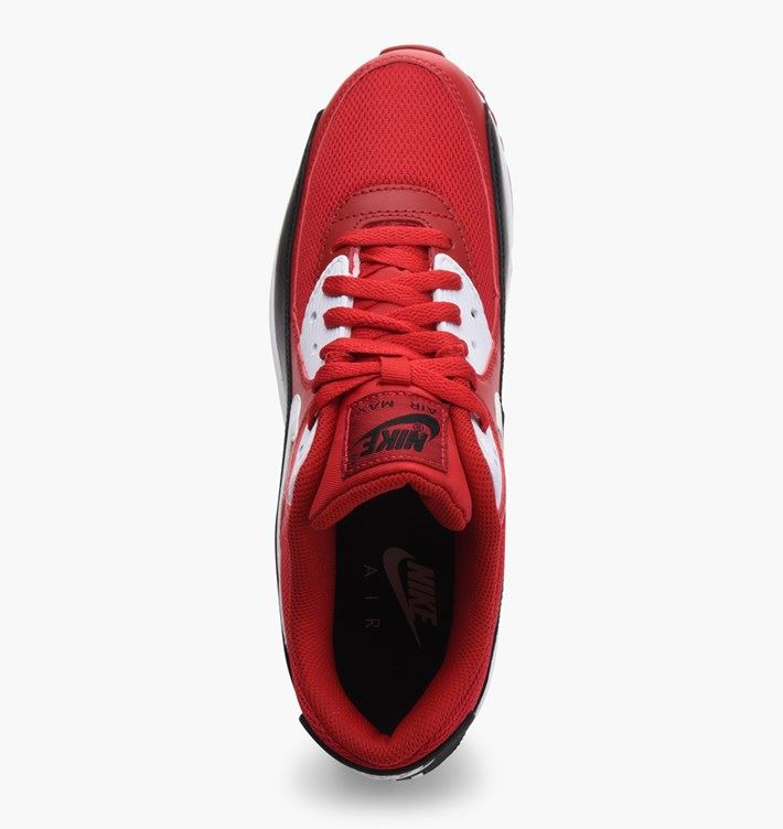 69bdf78fd6 NIKE AIR MAX 90 ESSENTIAL RED/WHITE/BLACK MENS 537384 610 UK 7-11 | eBay