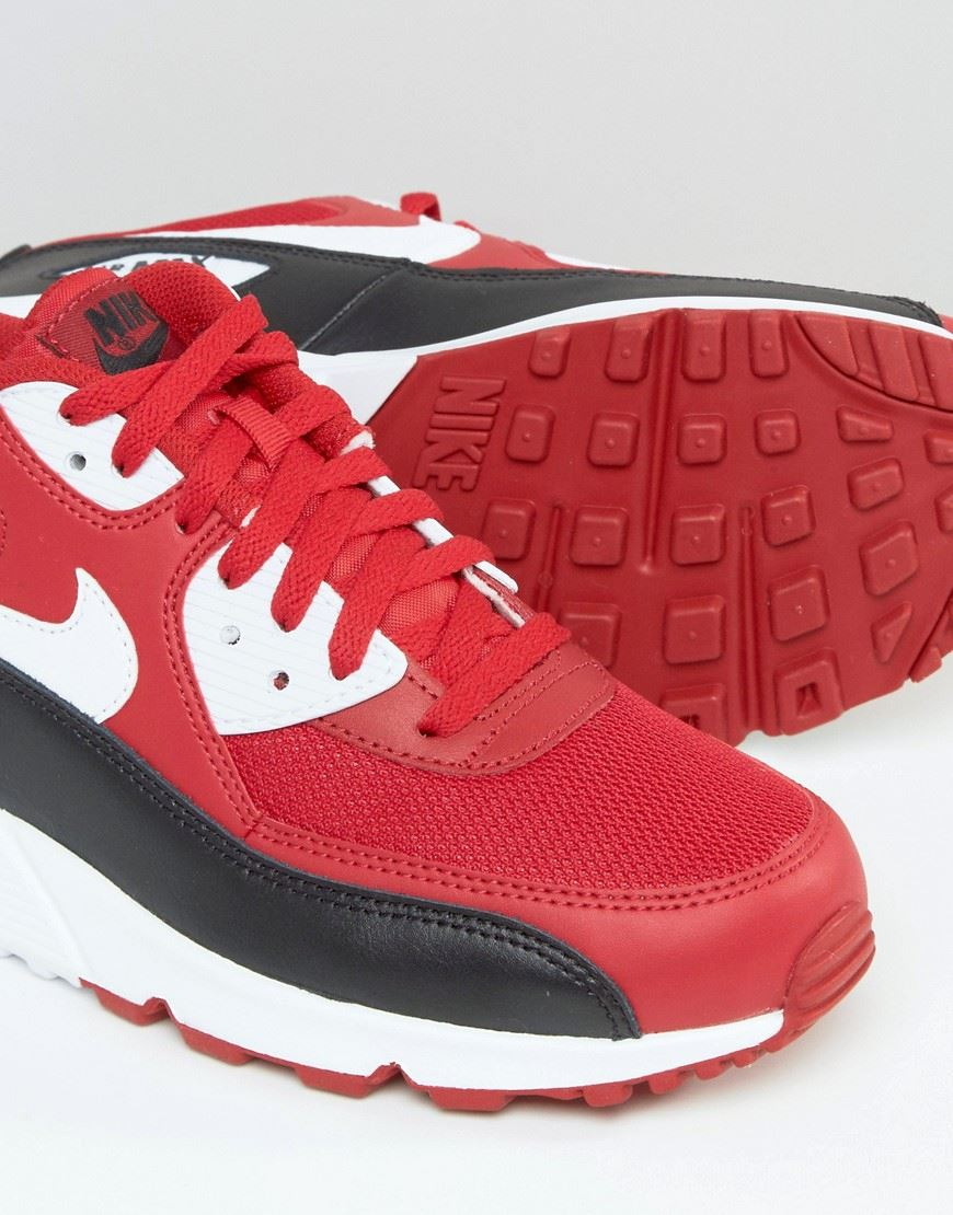 new product 70b0d 49a30 NIKE-AIR-MAX-90-ESSENTIAL-RED-WHITE-BLACK-
