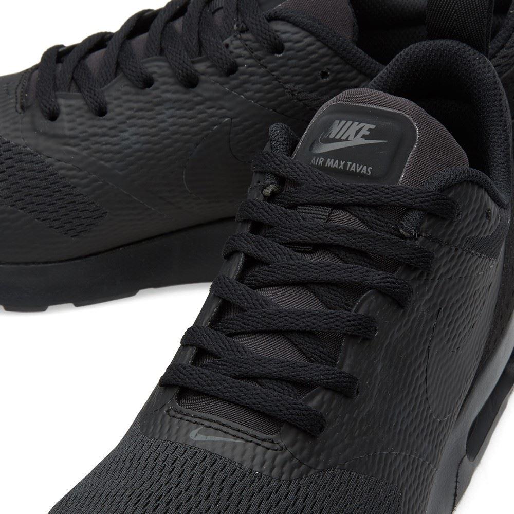 qksqf Nike Air Max Tavas Black 705149-016 Trainers UK 7-12 | eBay