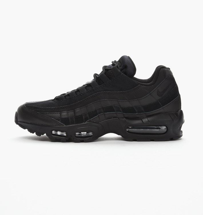 new styles ef3da ce4fd Details about NIKE AIR MAX 95 ESSENTIAL BLACK MENS 749766 009 UK 6-11