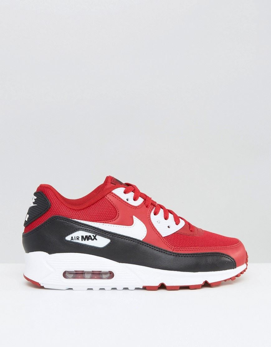 99a7d94b08a ... promo code for nike air max 90 essential red white black b97c9 8f3ab ...