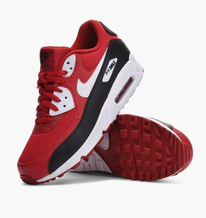 online store a4ada 55660 ... promo code for nike air max 90 essential red white black b9158 cda3b
