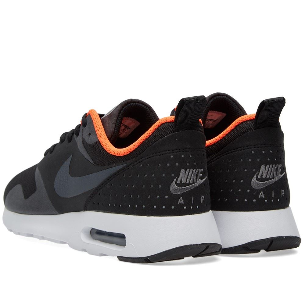 nike air max tavas black orange