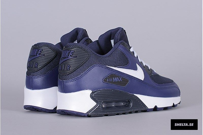 fxwba NIKE AIR MAX 90 ESSENTIAL 537384 415 BLUE & WHITE UK 6-11 | eBay