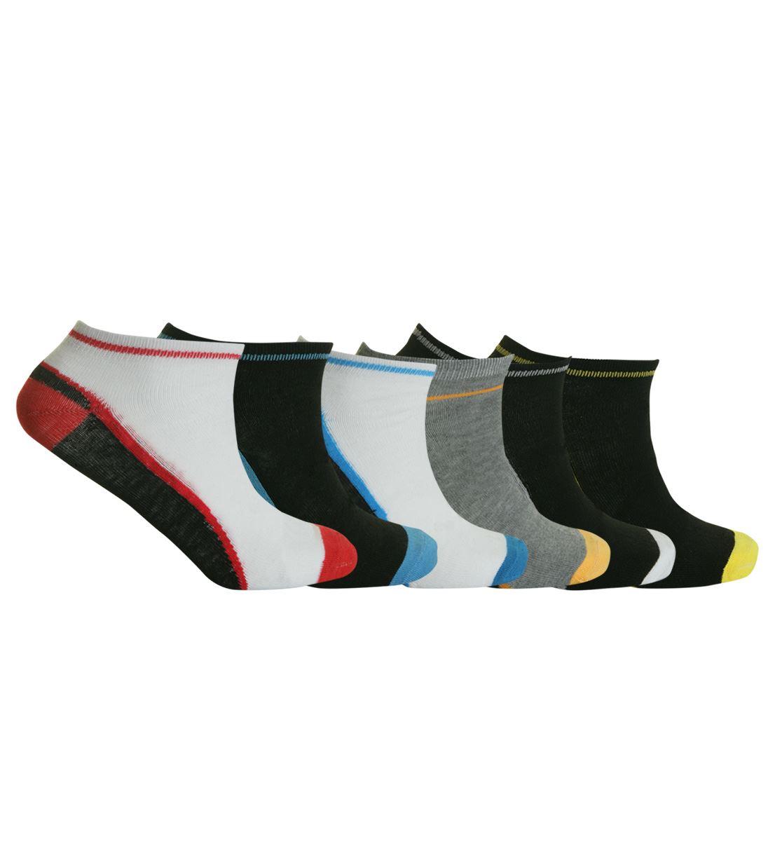 Mens Trainer Liner Ankle Socks Funky Designs Adults 6 U0026 12 ...