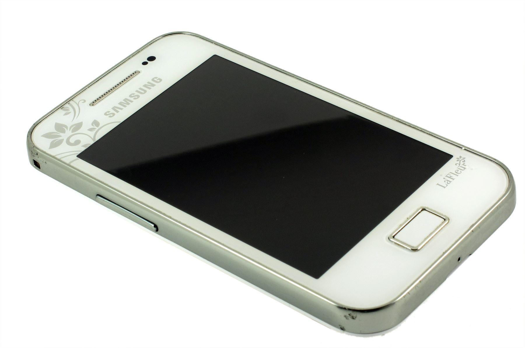 samsung galaxy ace lafleur white gt s5830i unlocked android smartphone 8806085002418 ebay. Black Bedroom Furniture Sets. Home Design Ideas