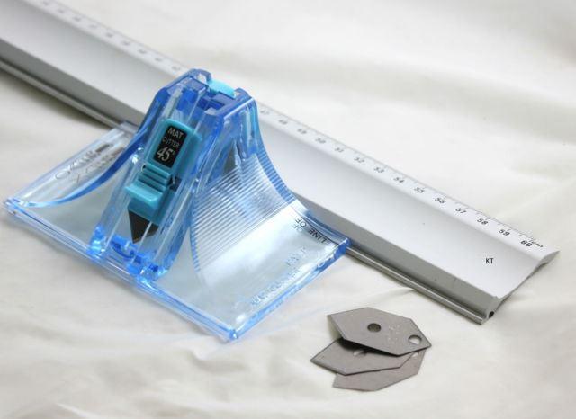 Dafa Mount Cutter Ruler Cutting Mat Picture Framing