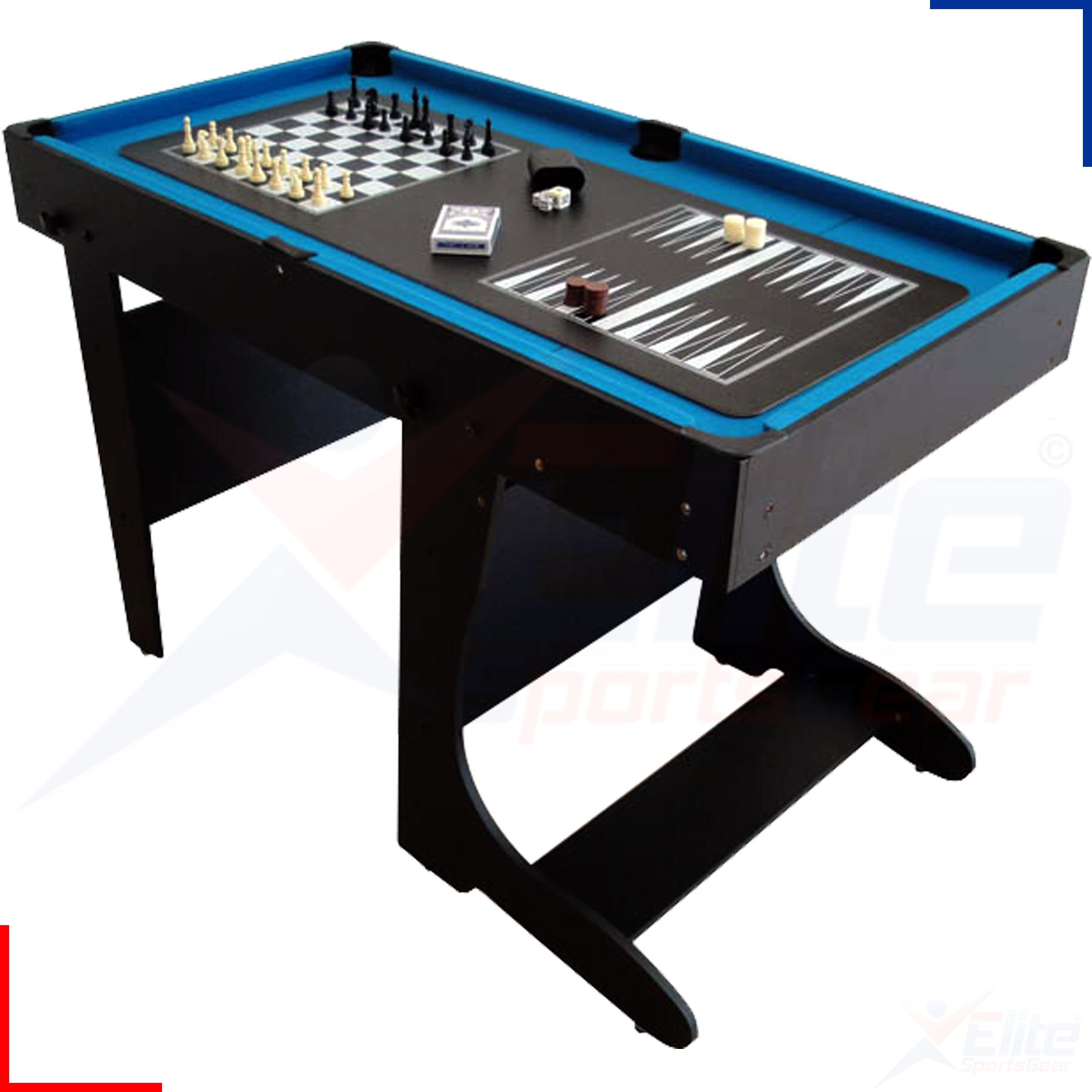 bce 12 in 1 multi games table snooker football pool