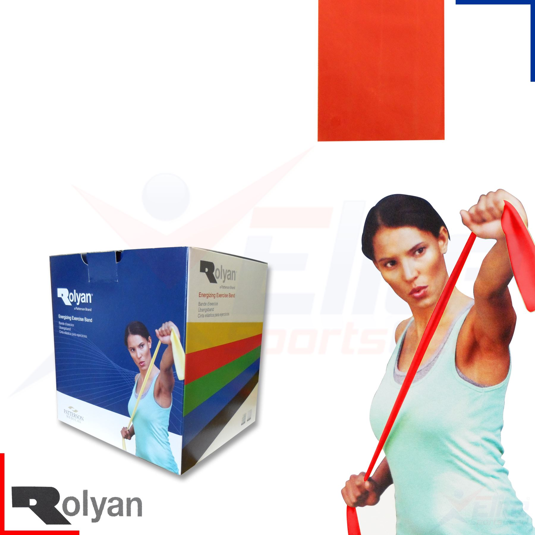 Rolyan Band Resistance Exercise Fitness Physio Yoga