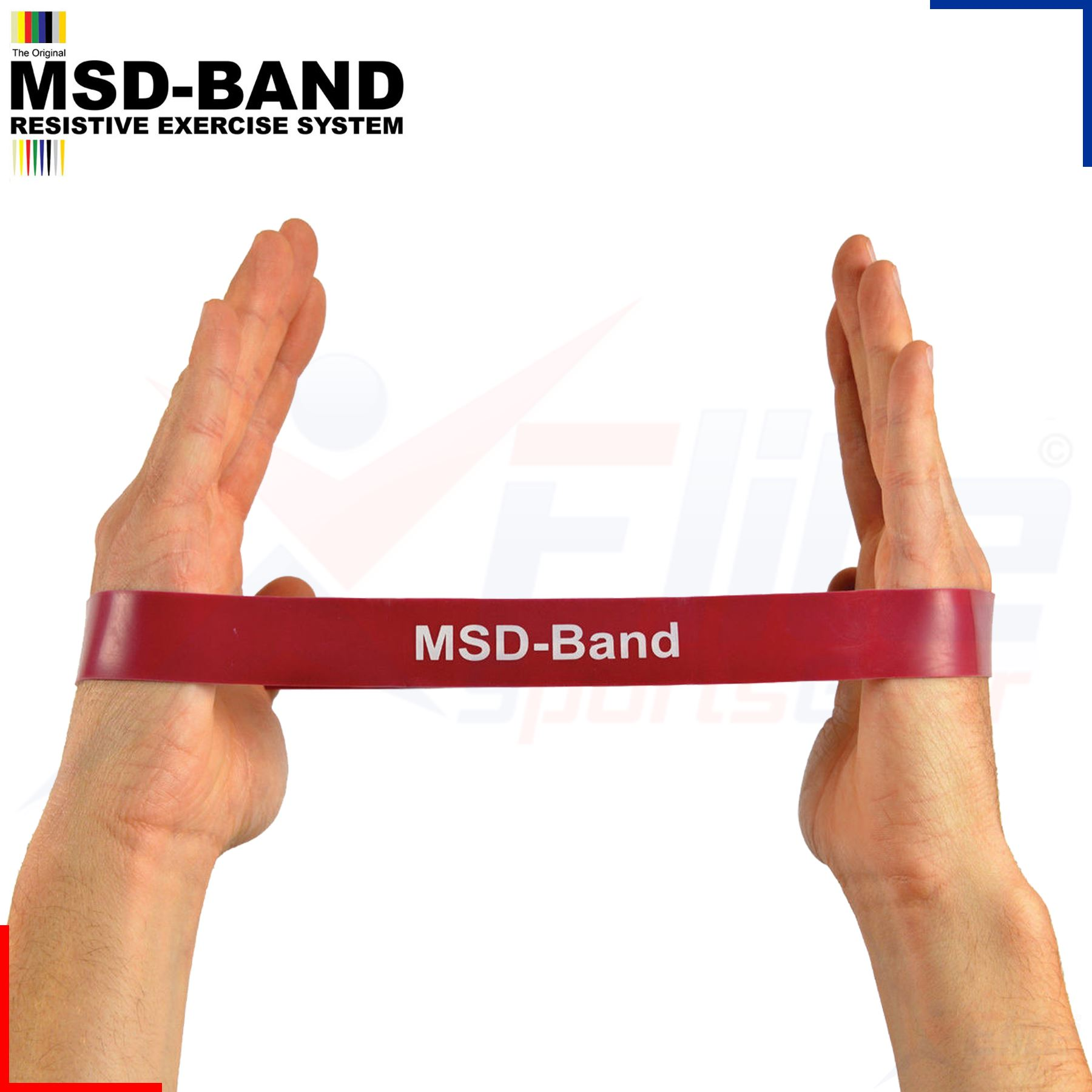 MSD Resistance Band Loop Exercise Crossfit Strength
