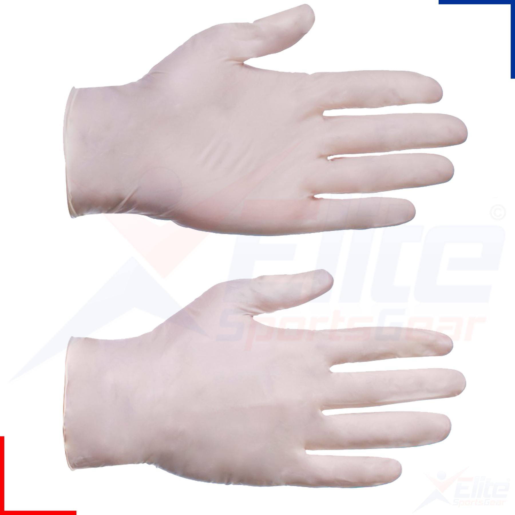 Clear Latex Gloves 16