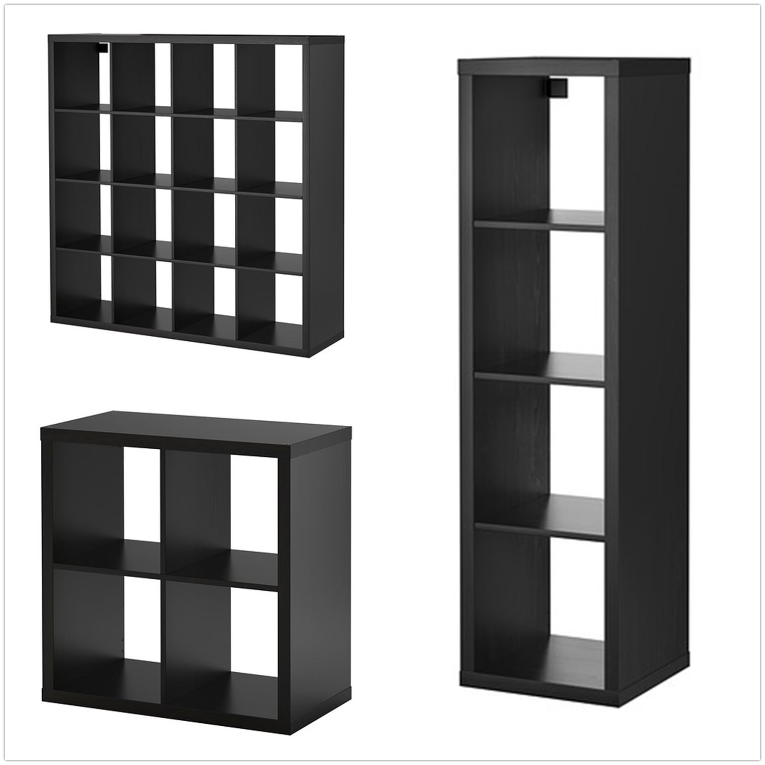 IKEA Kallax Cube Storage Series Shelf Shelving Units Bookcase ...