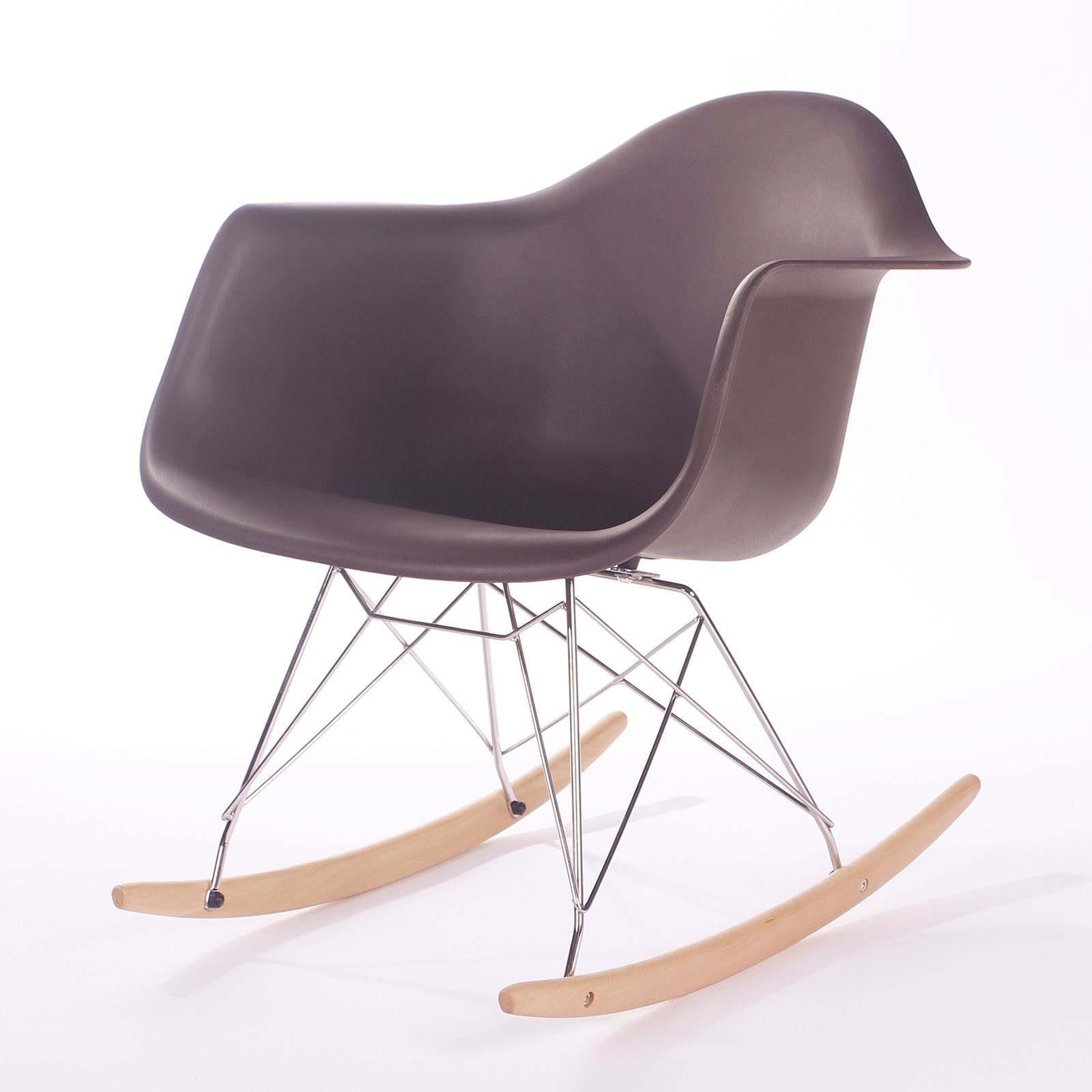 eames rocking chair rar rocker armchair retro lounge nursery baby room furniture. Black Bedroom Furniture Sets. Home Design Ideas