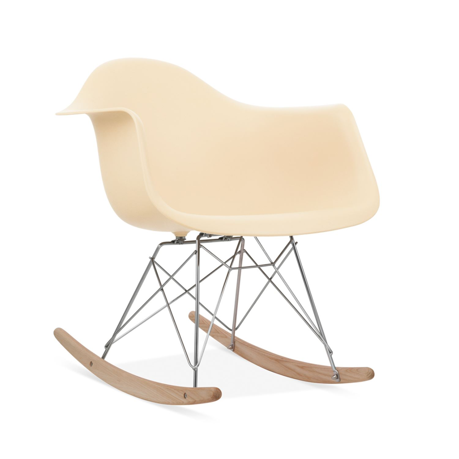 Eames Rocking Chair RAR Rocker Armchair Retro Lounge Nursery Baby room Furniture