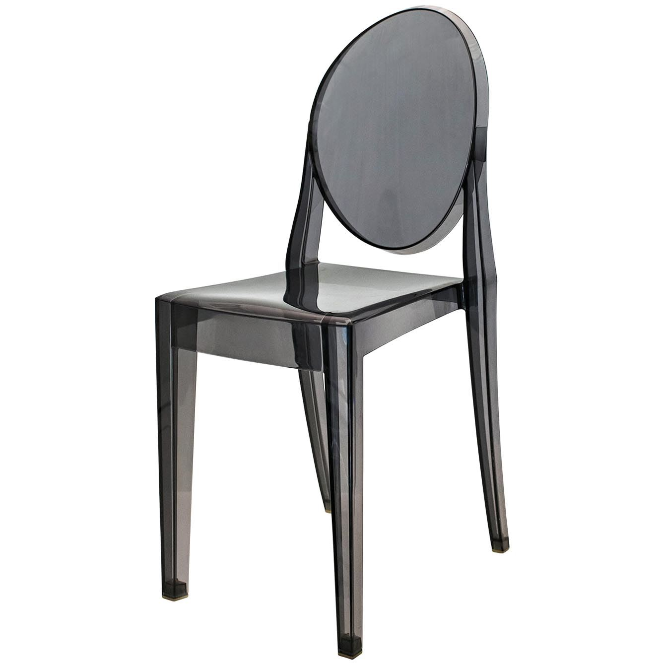 Eames inspired eiffel ghost chair with or no arm dining chairs retro panton ebay - Eames ghost chair ...