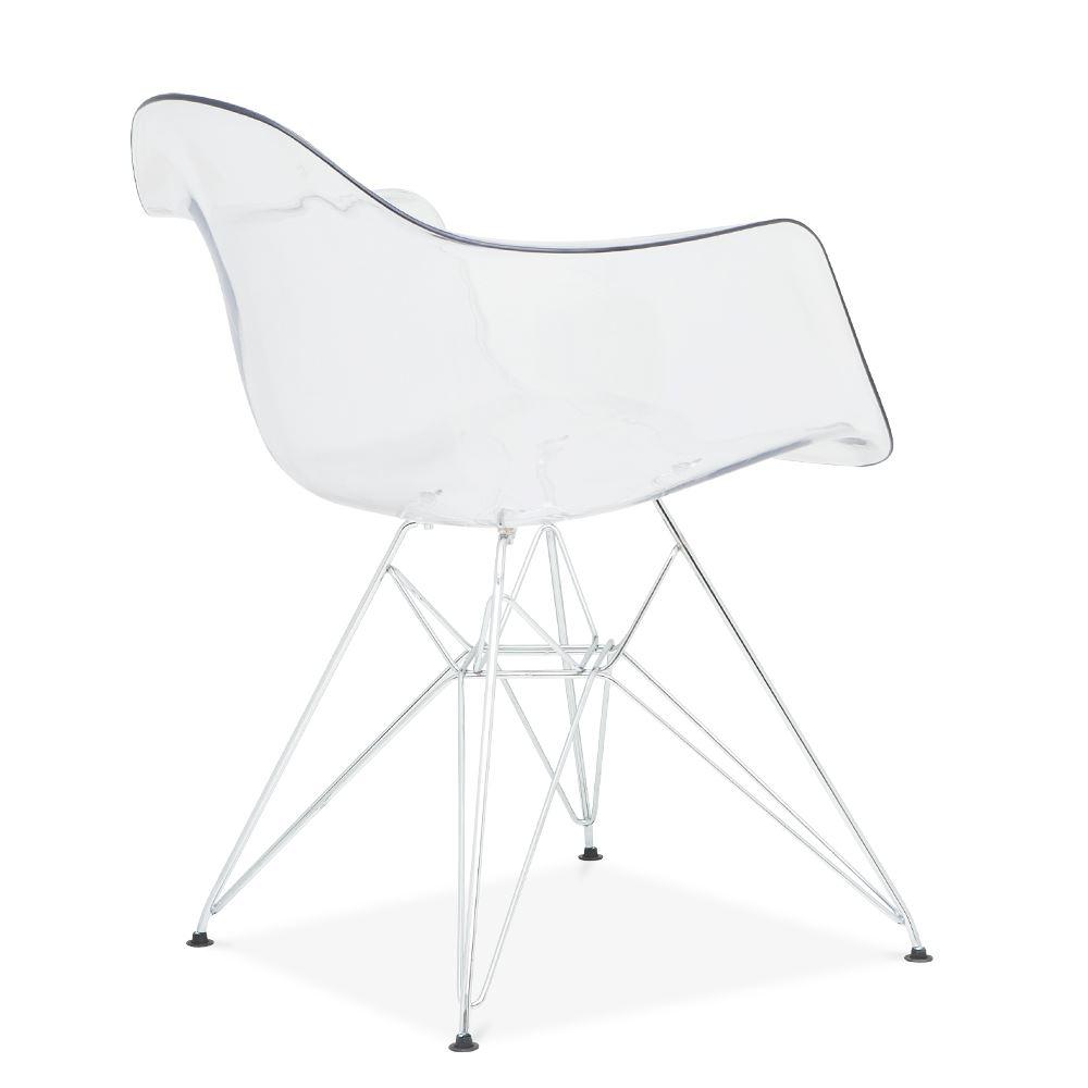 eames inspired eiffel retro dar dining office lounge chair panton metal legs ebay. Black Bedroom Furniture Sets. Home Design Ideas