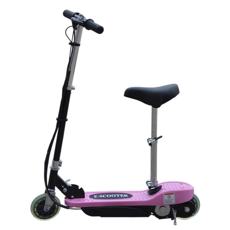 elektro e scooter mit abnehmbarem sitz batterie kinder spielzeug ebay. Black Bedroom Furniture Sets. Home Design Ideas