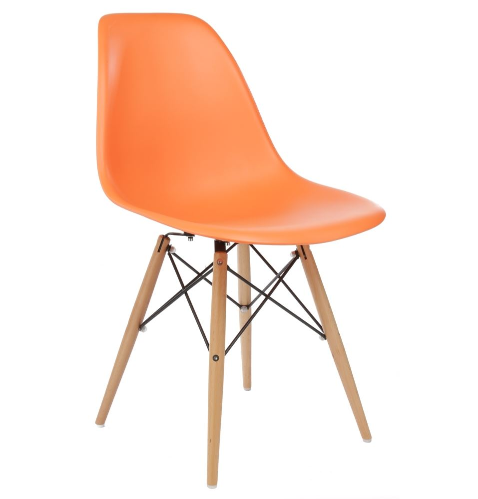 Retro Style Chairs Eames Inspired Eiffel Dsw Style Wooden Legs Chair Lounge Dining