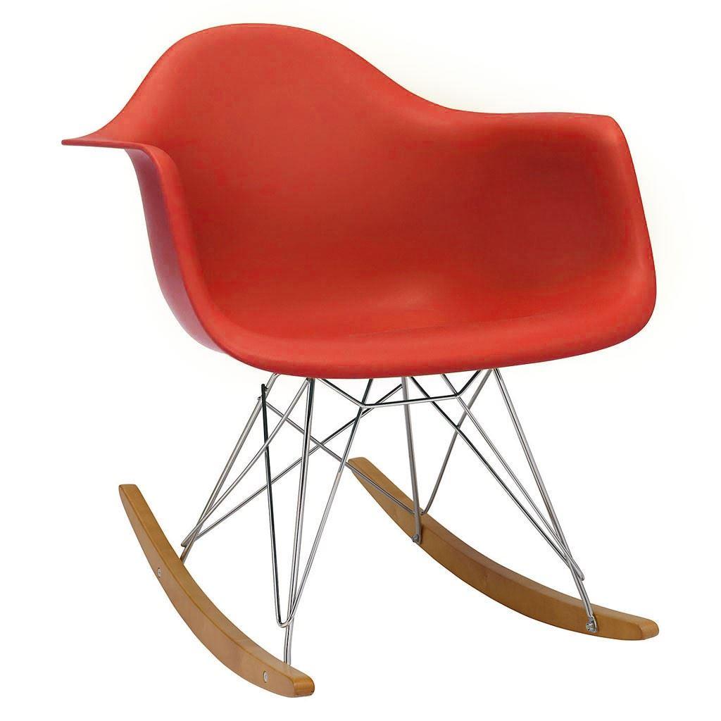 Eames rocking chair rar rocker armchair retro modern for Rocking chair dsw