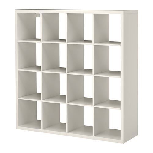 Ikea kallax cube storage series shelf shelving units bookcase expedit 16 cube - Etagere cube ikea expedit ...