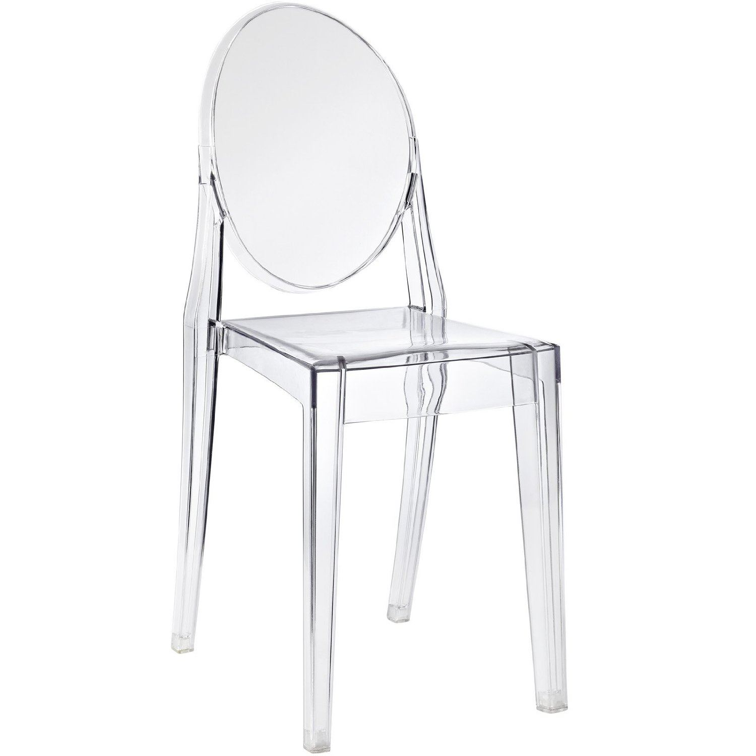 Eames inspired eiffel louis ghost chair or no arm dining chairs retro panton ebay - Eames ghost chair ...