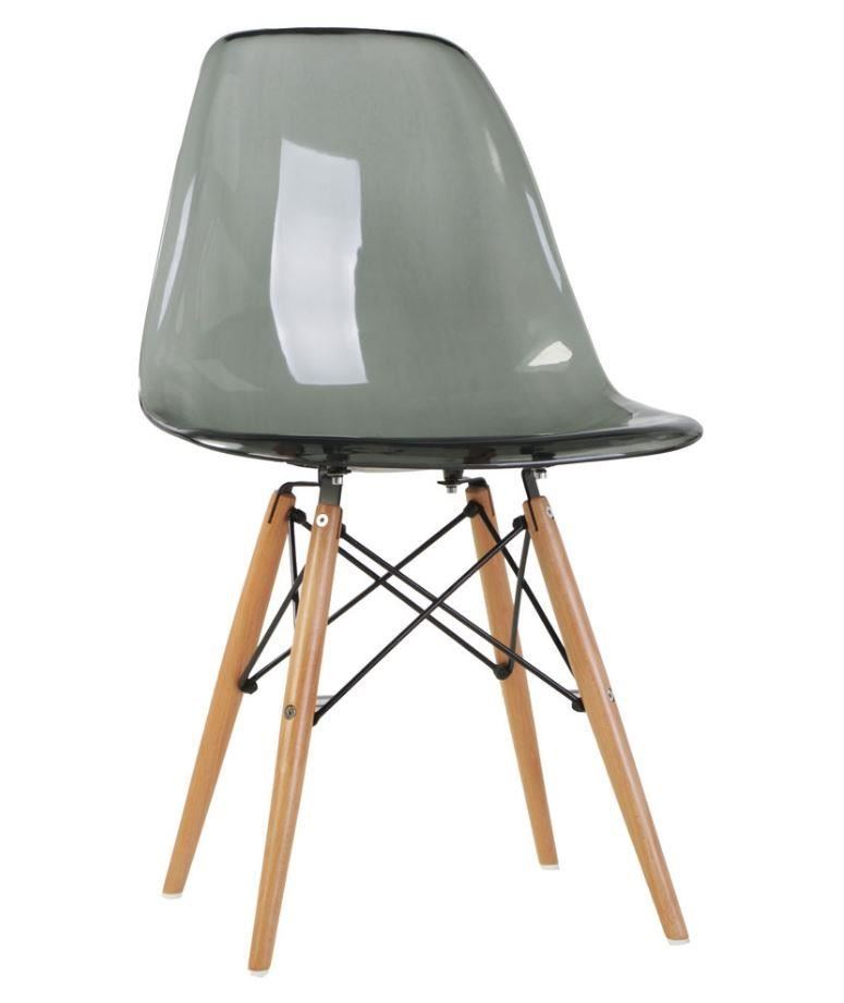 Set of 2 dsw dining chairs eames inspired eiffel wooden for Chaise inspiration eames dsw