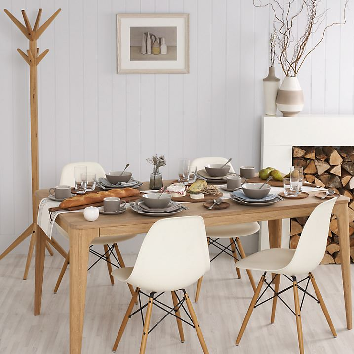 Charles Ray Eames Eiffel Inspired DSW Side Dining