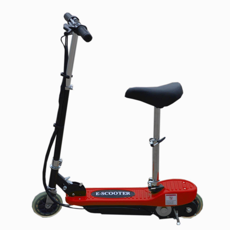 elektro e scooter mit abnehmbarem sitz batterie kinder spielzeug. Black Bedroom Furniture Sets. Home Design Ideas