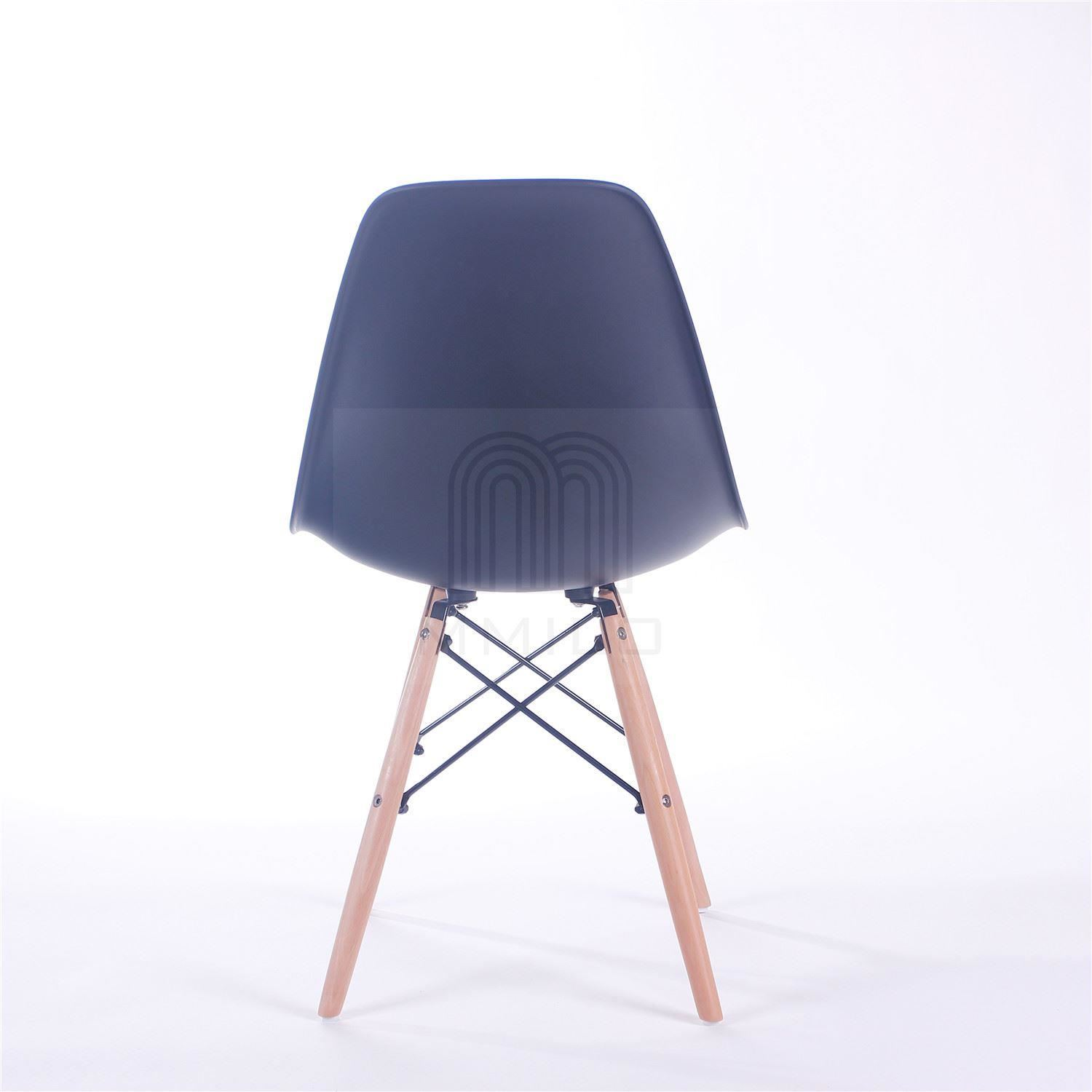 Crazygadget Charles Ray Eames Inspired Eiffel Dsw Retro: Charles Ray Eames Eiffel Inspired DSW Side Dining Chair