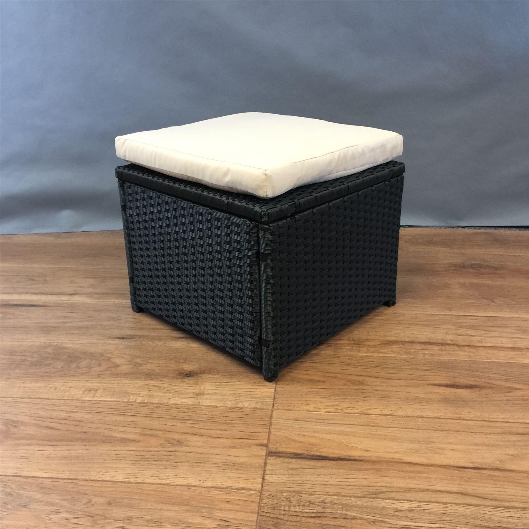 Rattan Furniture Table Foot Stood Chair Patio Garden Aluminum Frame Assembled Ebay