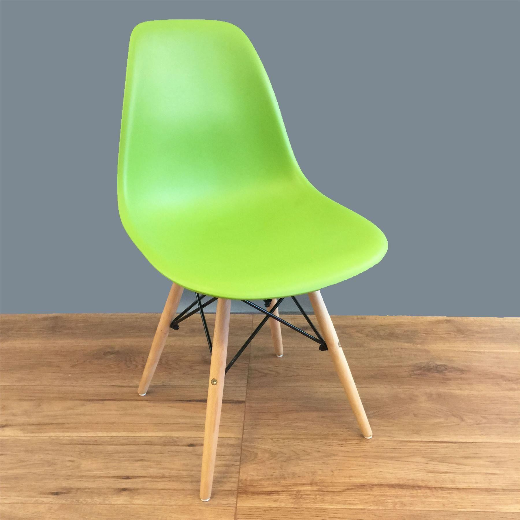 Charles ray eames eiffel inspired dsw side dining chair for Eames dsw replica