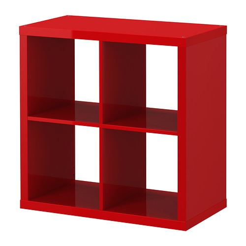 Ikea kallax cube storage series shelf shelving units bookcase expedit 4 cubes - Etagere cube ikea expedit ...
