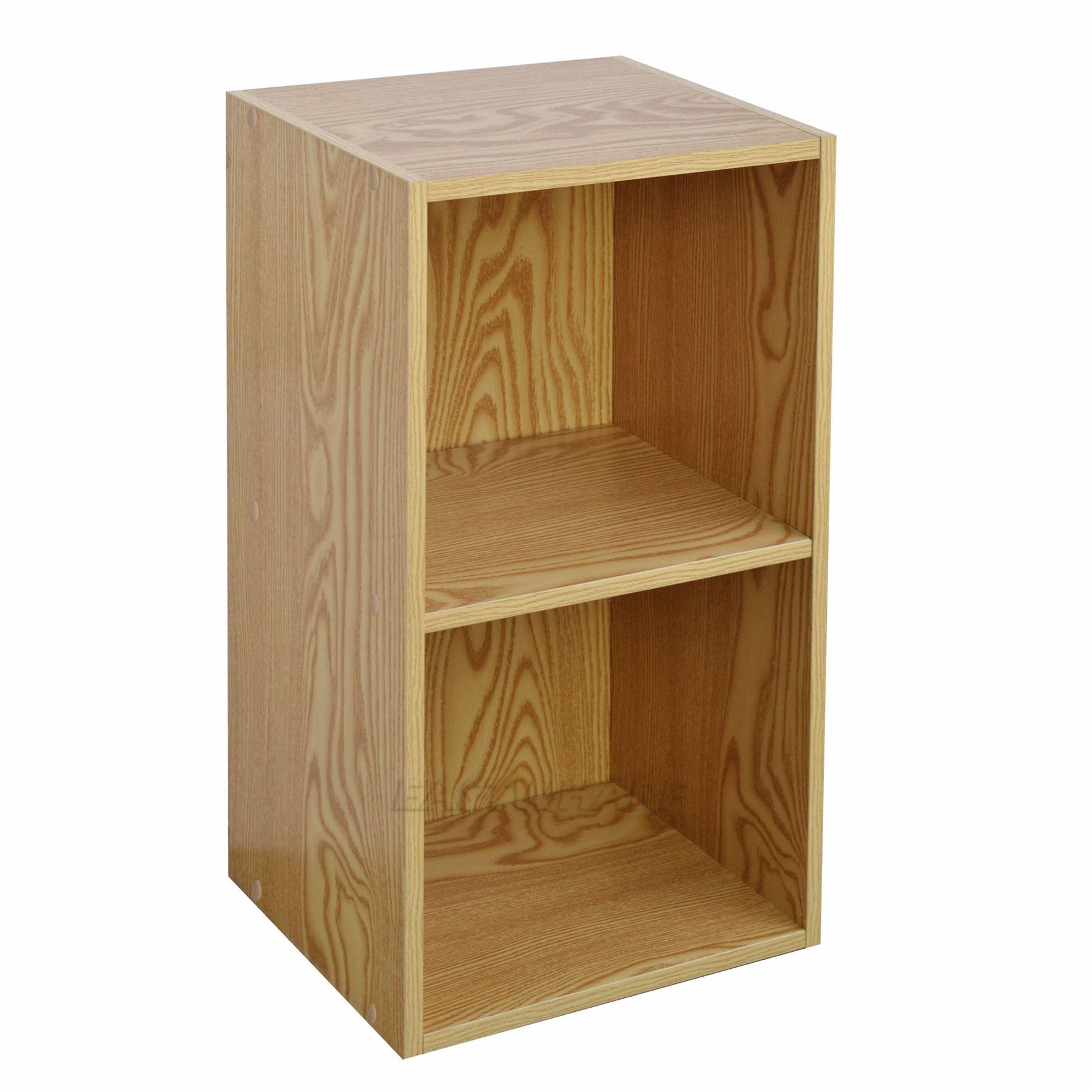 Wooden Display Shelf ~ Wooden bookcase shelving display storage wood shelf