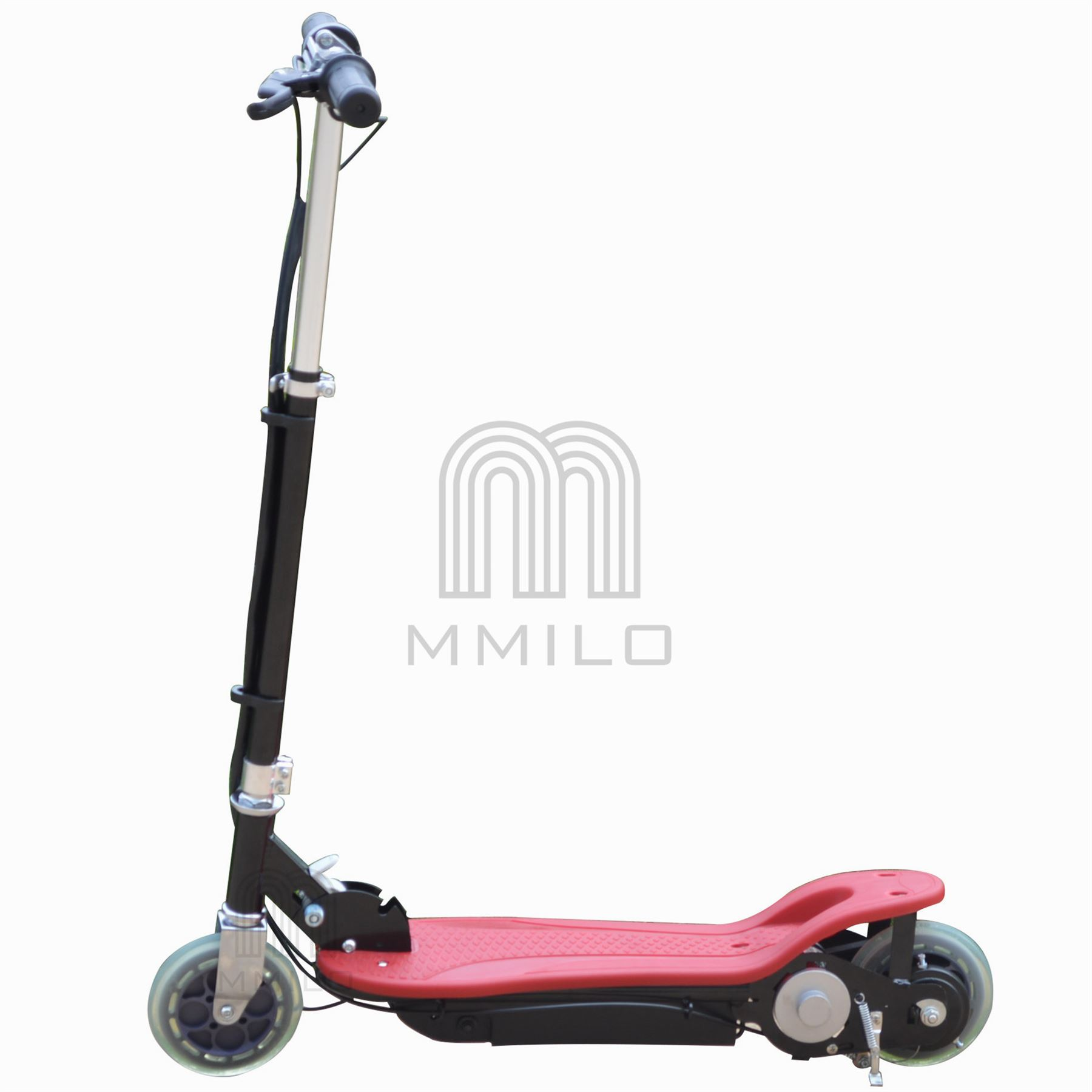 new electric e scooter ride on rechargeable battery height adjustable 120w 24v ebay. Black Bedroom Furniture Sets. Home Design Ideas