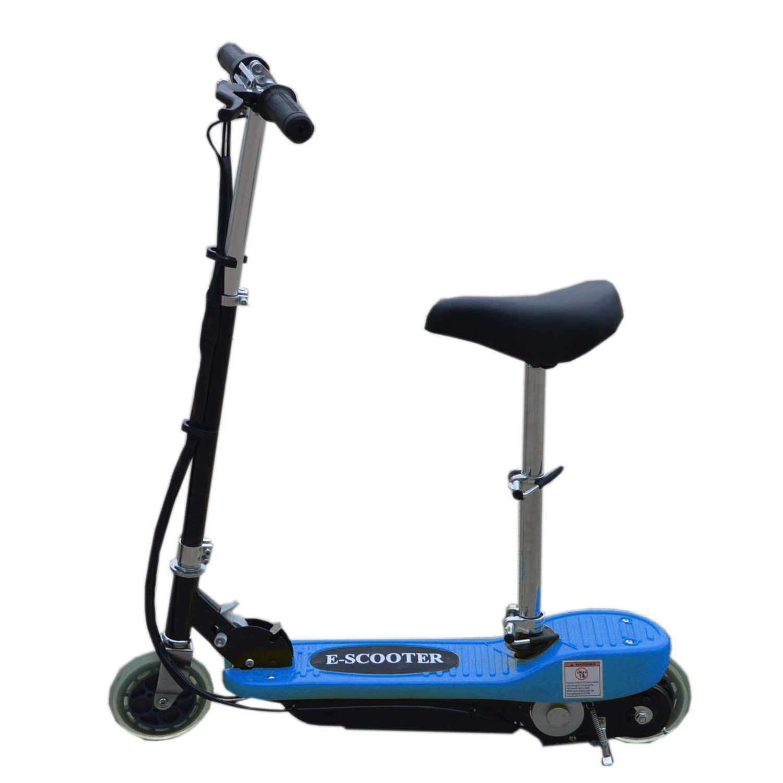 elektro e scooter mit abnehmbarem sitz batterie kinderspielzeug ebay. Black Bedroom Furniture Sets. Home Design Ideas