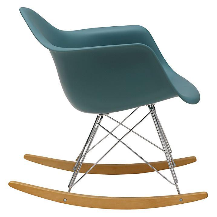 eames rocking chair rar rocker armchair retro modern lounge dinning
